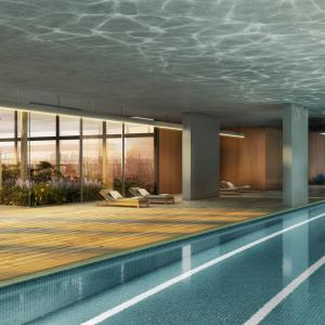 Artistic illustration of Indoor Pool with 25m lap